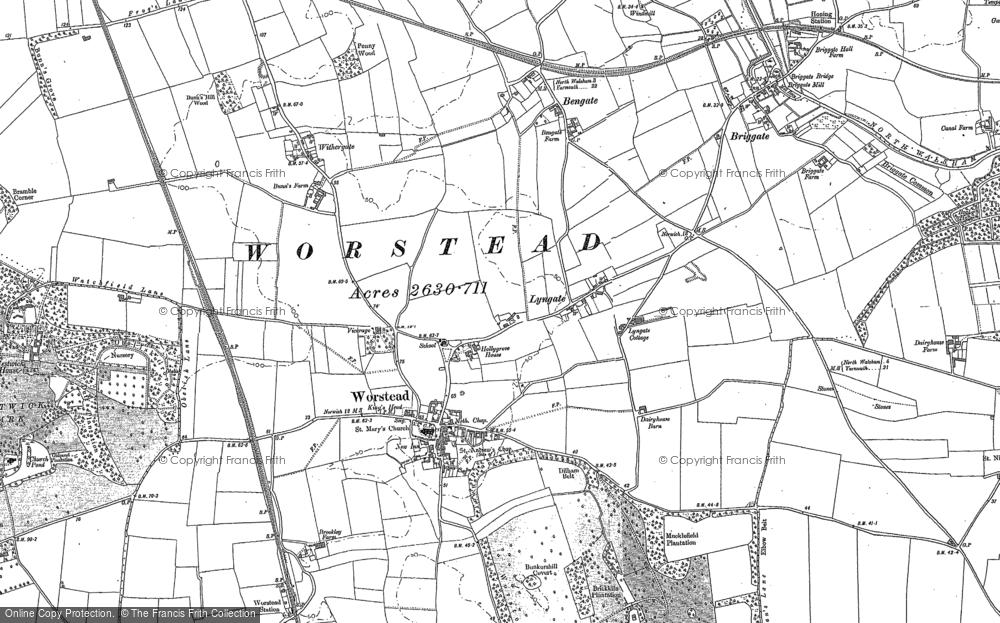 Worstead, 1884 - 1885