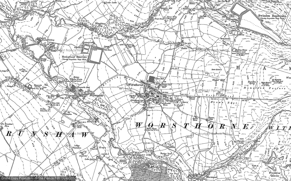 Worsthorne, 1900 - 1901