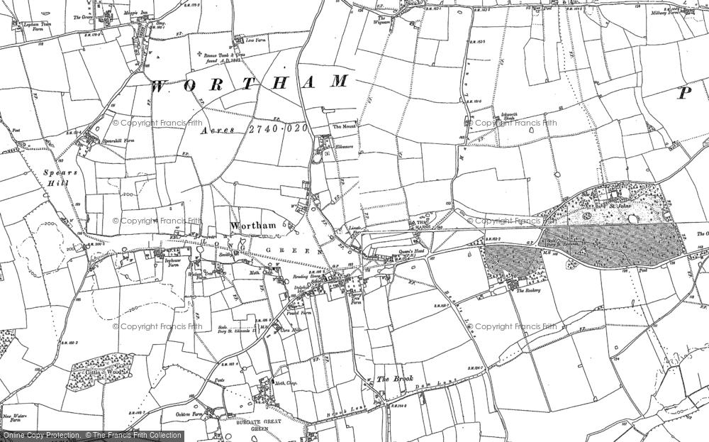 Wortham, 1885 - 1903