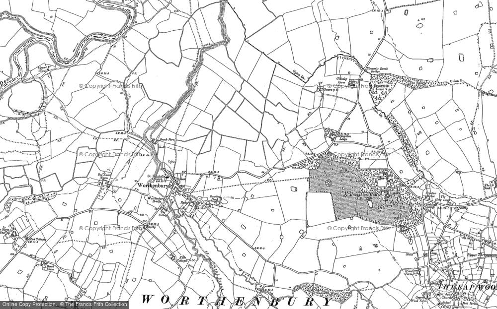 Worthenbury, 1909