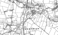 Old Map of Worthing, 1882 - 1883