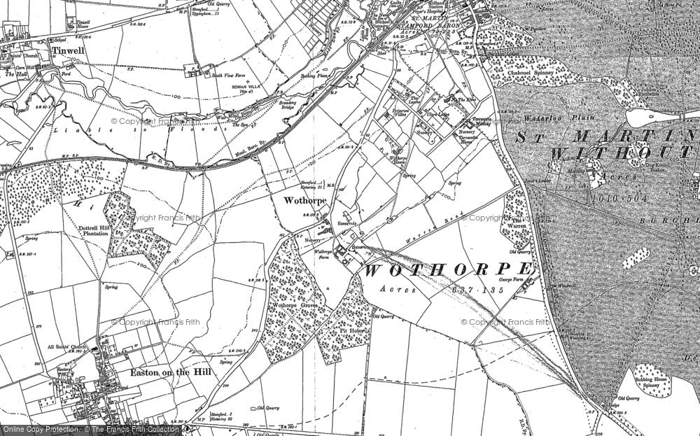 Wothorpe, 1885 - 1899
