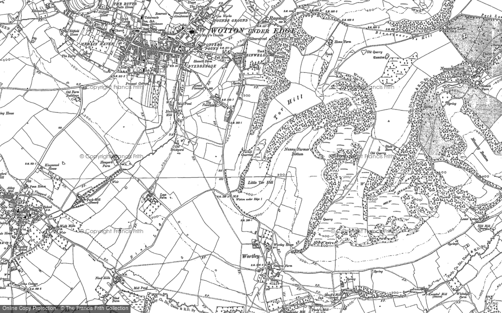 Wotton-under-Edge, 1881
