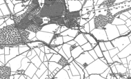 Old Map of Wotton Underwood, 1898