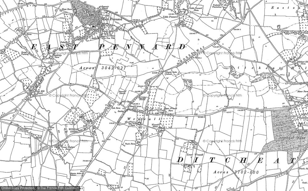 Wraxall, 1885