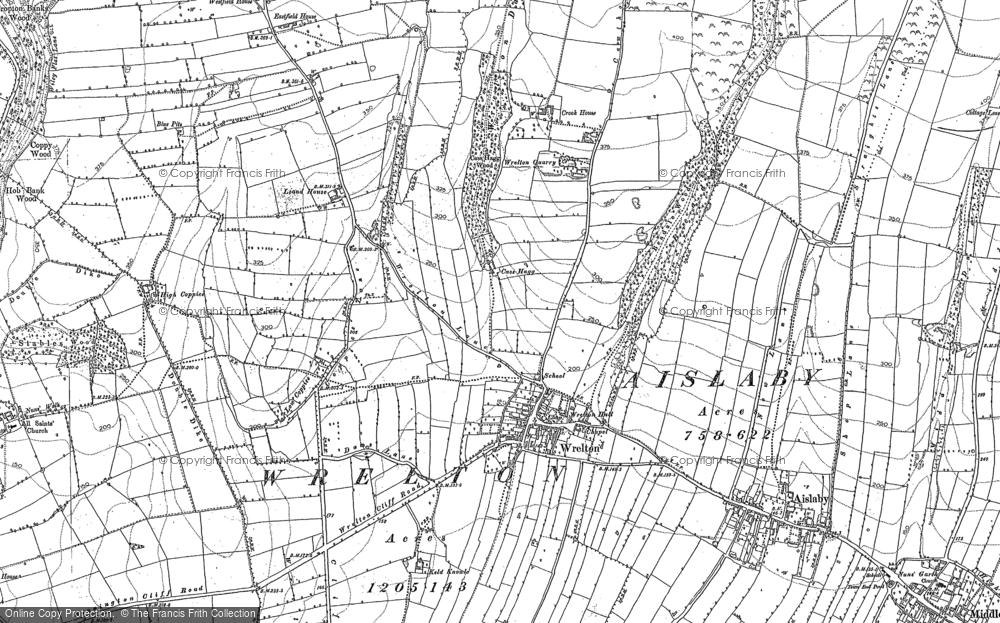 Wrelton, 1890 - 1892