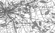 Old Map of Writhlington, 1884