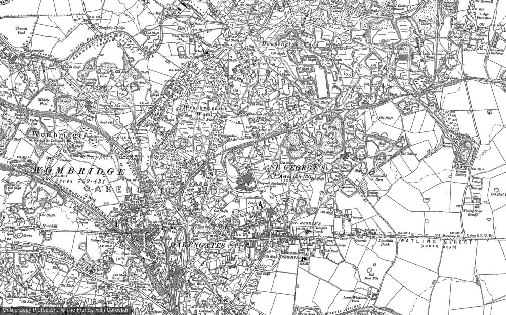 Wrockwardine Wood, 1881 - 1882