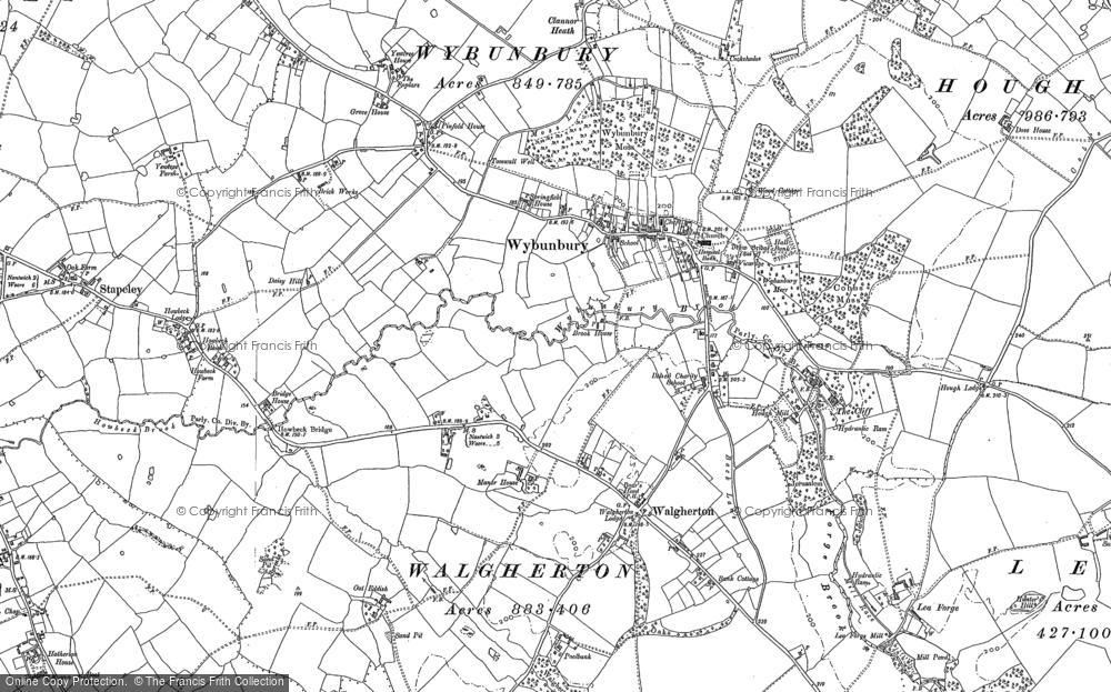 Wybunbury, 1897