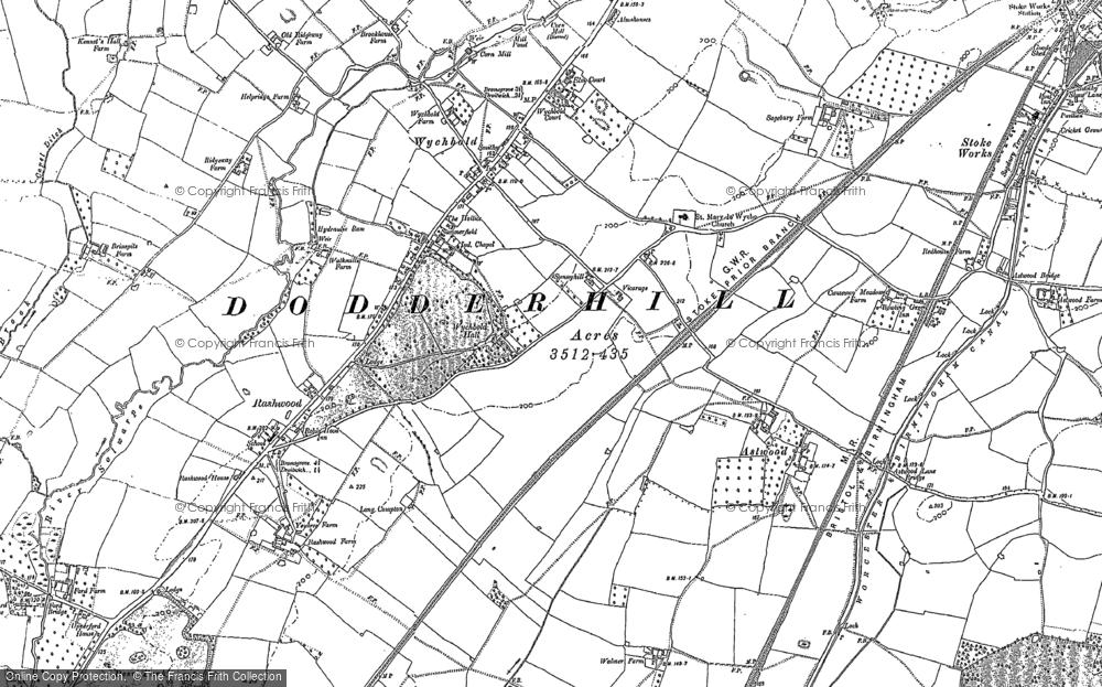 Wychbold, 1883