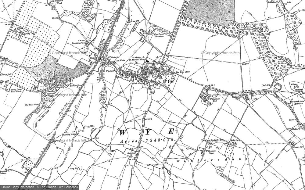 Wye, 1896