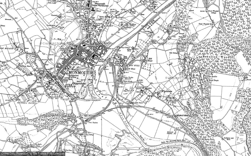 Wyesham, 1900 - 1903