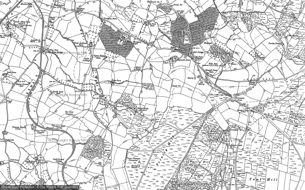 Old Map of Wyke Green, 1903 in 1903