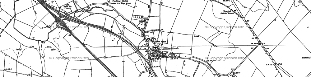 Old map of Wymington in 1899