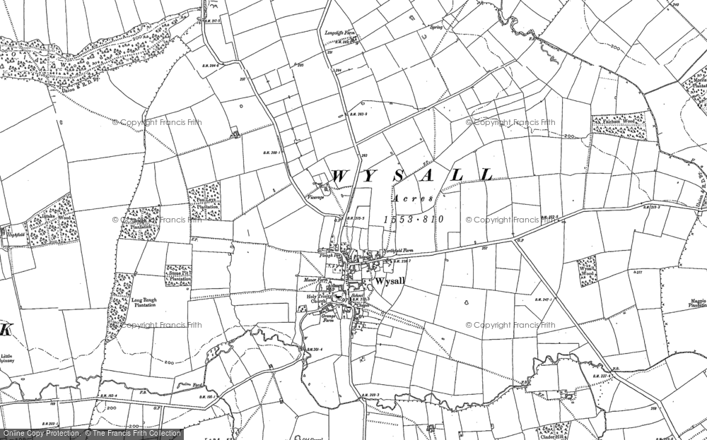 Wysall, 1883