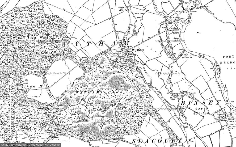 Wytham, 1911