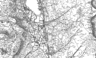 Old Map of Wythburn, 1897
