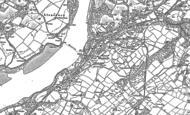 Old Map of Y Felinheli, 1899