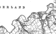 Old Map of Yanwath, 1913