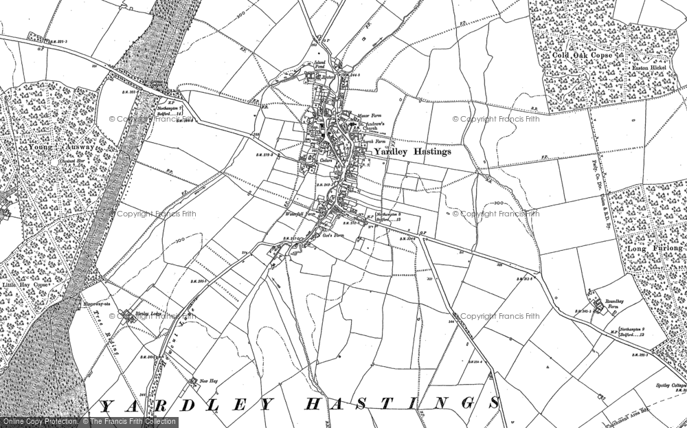 Yardley Hastings, 1899