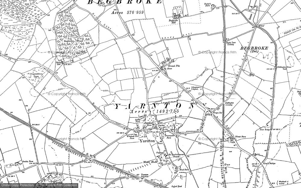 Yarnton, 1898 - 1911