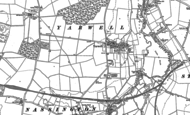 Old Map of Yarwell, 1885 - 1899