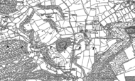 Old Map of Yatton, 1885 - 1902
