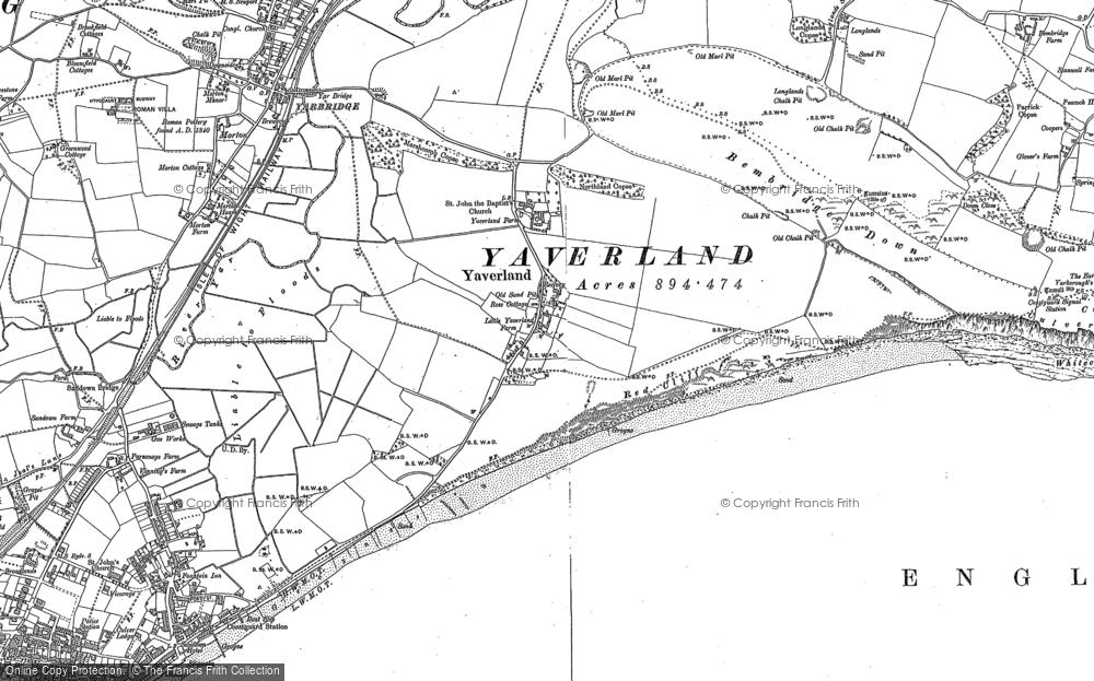 Yaverland, 1907