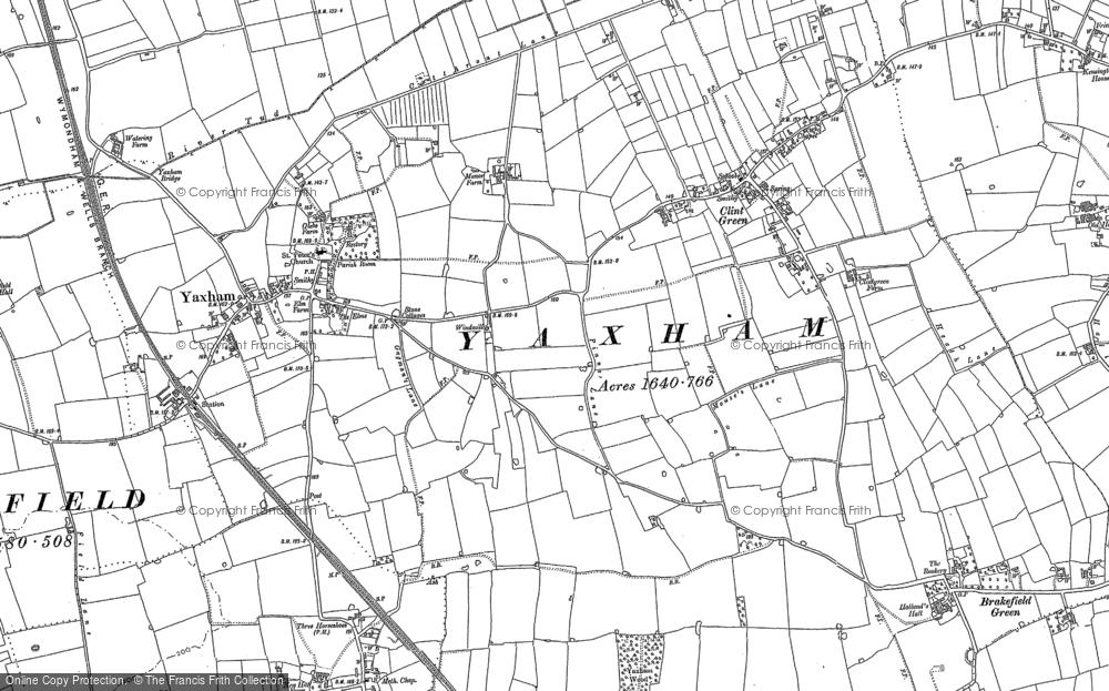 Yaxham, 1882