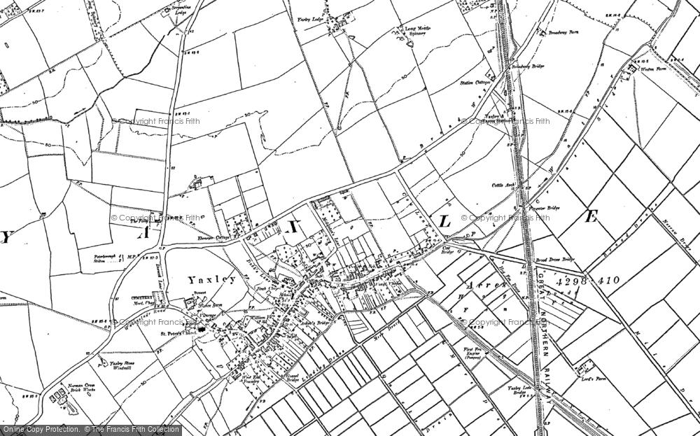 Yaxley, 1887