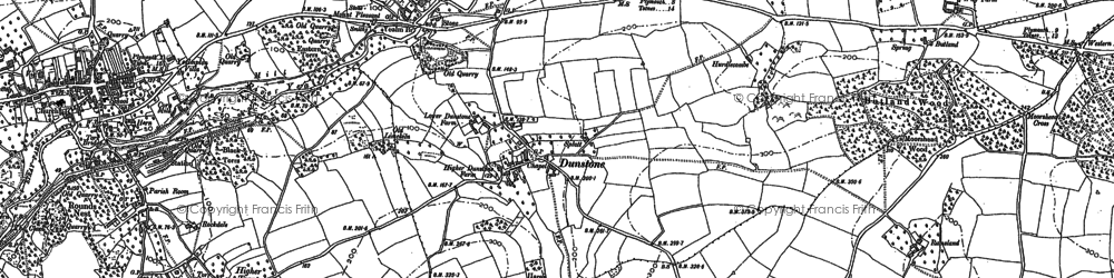 Old map of Yealmbridge in 1900