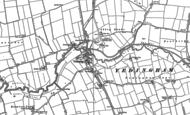 Old Map of Yedingham, 1889