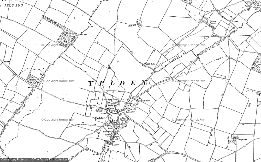 Yelden, 1899 - 1900