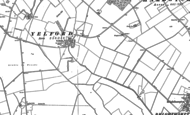 Old Map of Yelford, 1898 - 1919