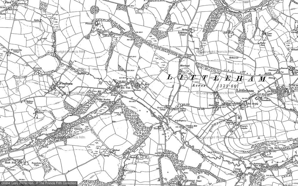 Yeo Vale, 1884 - 1904