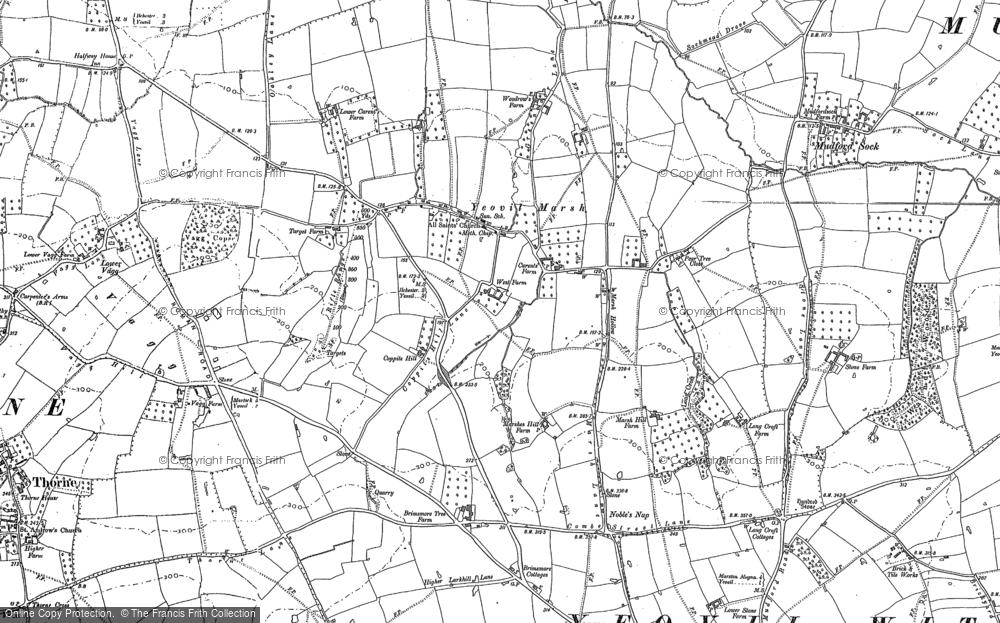 Yeovil Marsh, 1886 - 1901