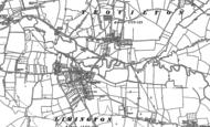 Old Map of Yeovilton, 1885