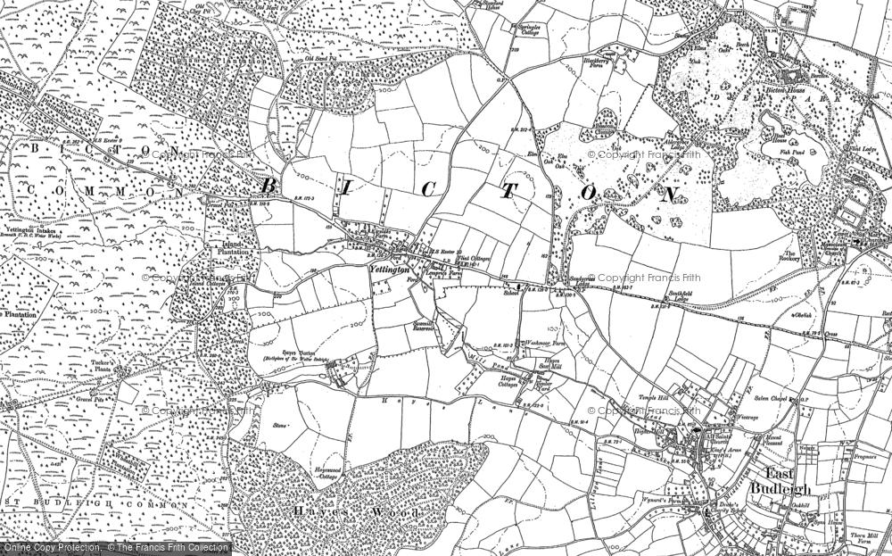Yettington, 1888