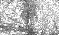 Old Map of Ynyshir, 1898