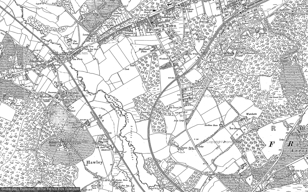Map of York Town, 1909 - 1910