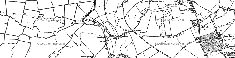 Old map of Yorkletts in 1896