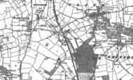 Old Map of Yorton, 1880