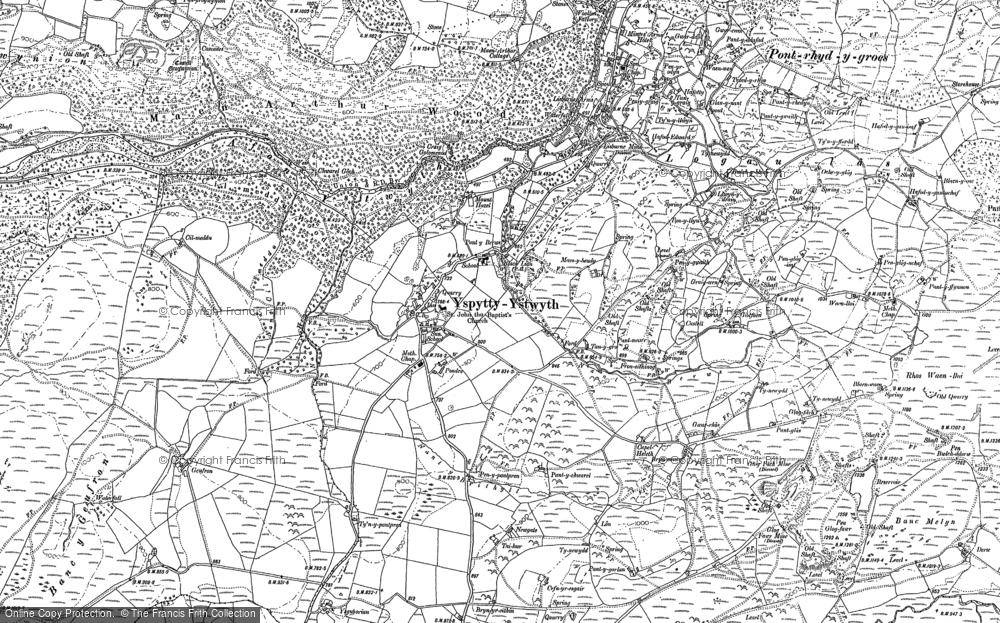 Ysbyty Ystwyth, 1886
