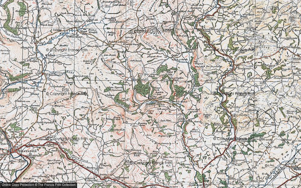 Abbeycwmhir, 1922