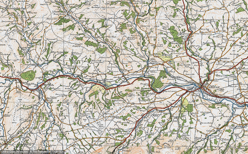Aberbran, 1923