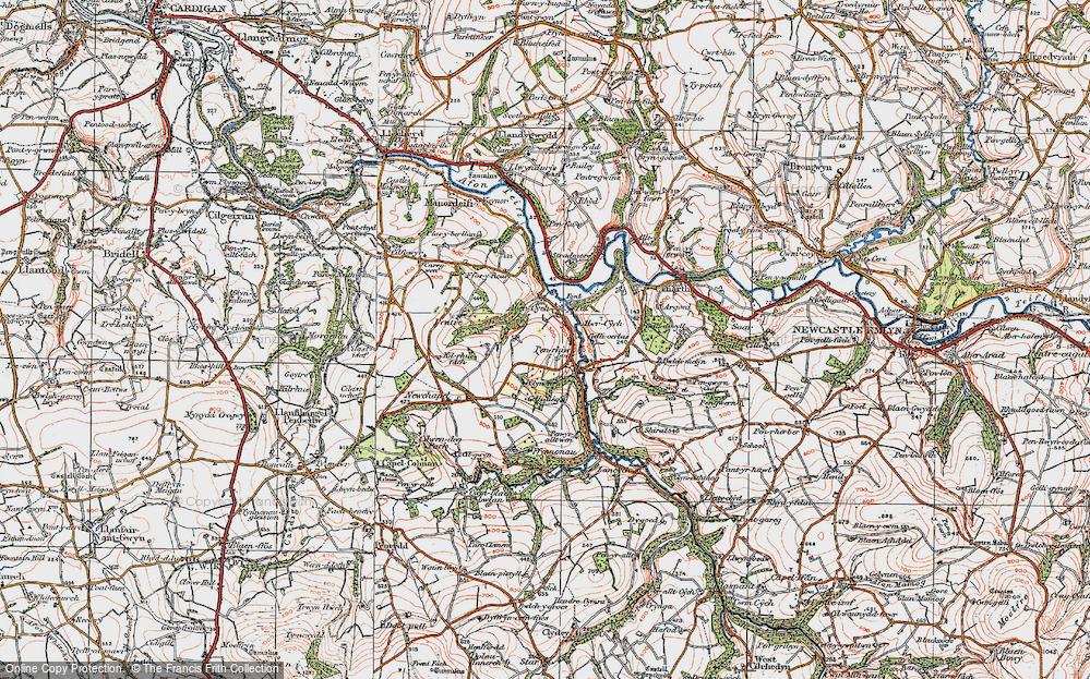 Abercych, 1923