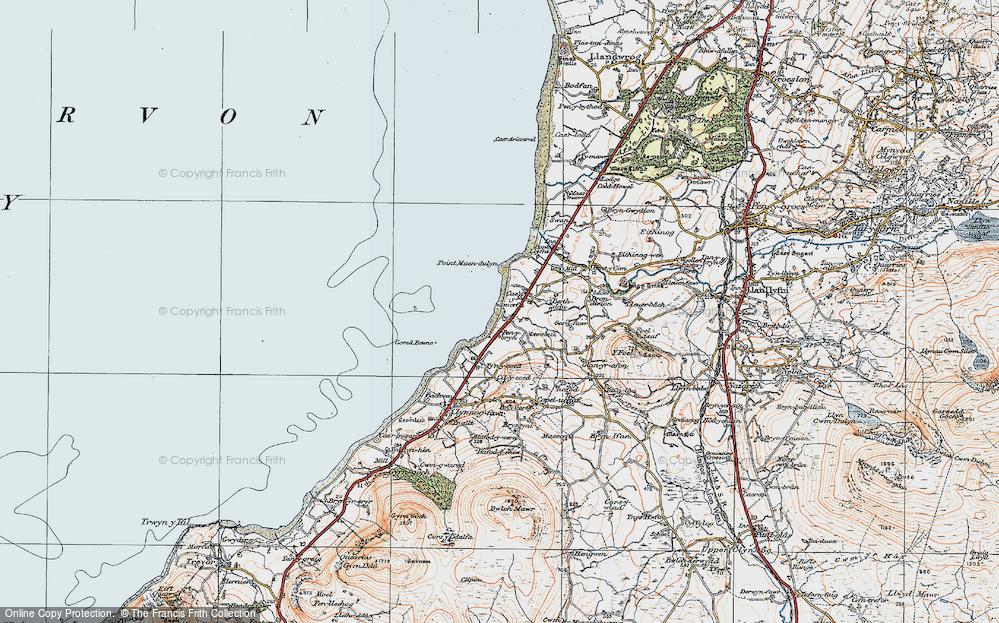 Aberdesach, 1922