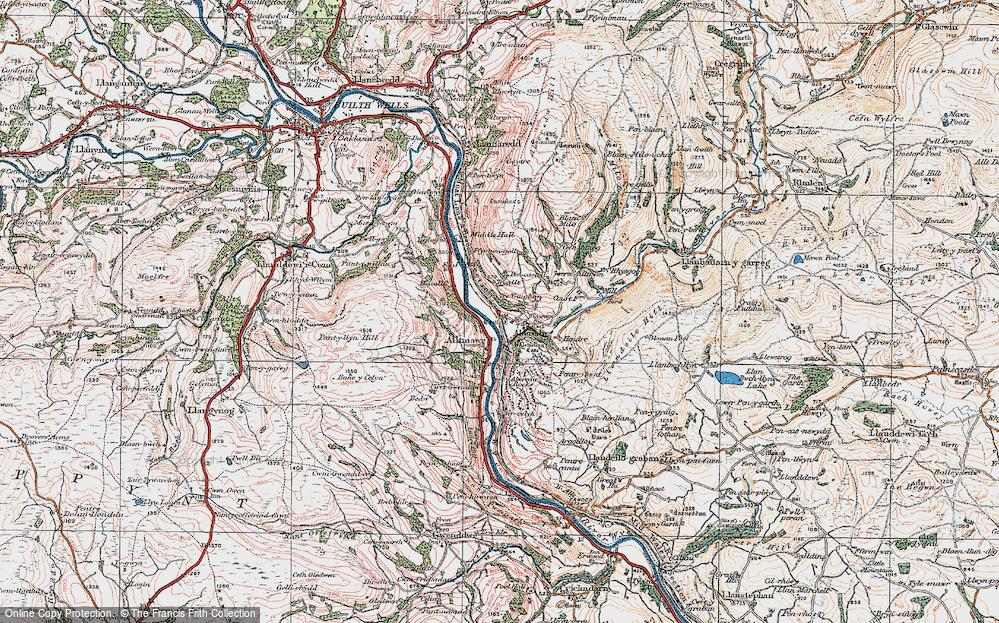 Aberedw, 1923