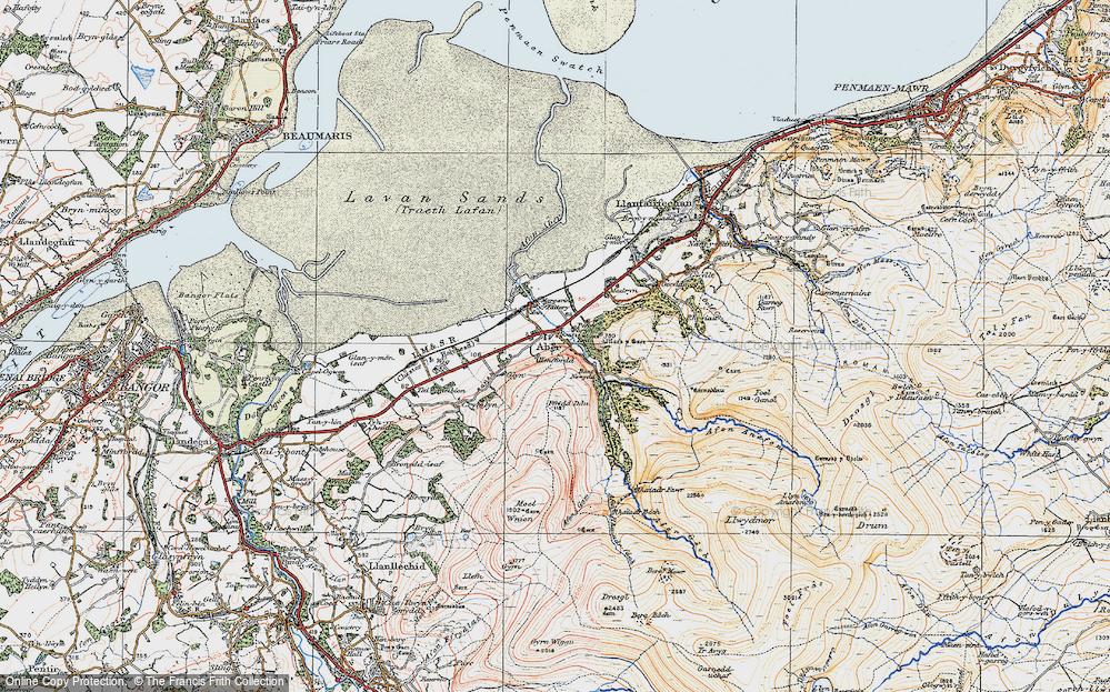 Abergwyngregyn, 1922
