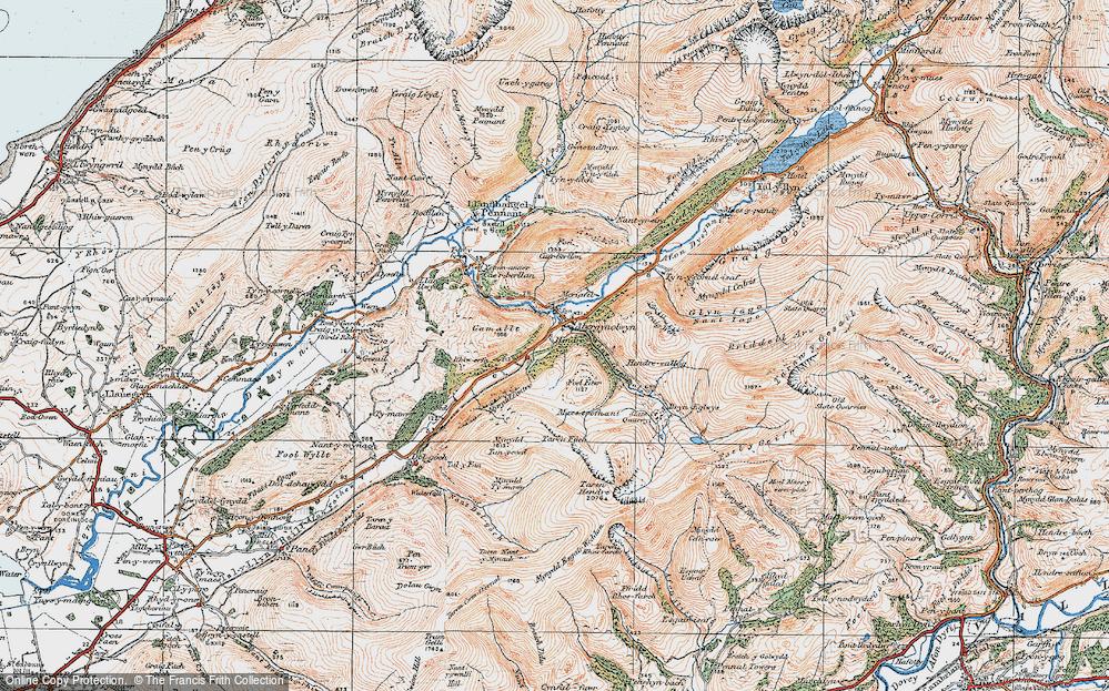 Abergynolwyn, 1922
